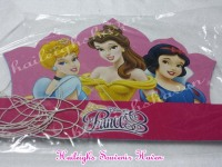 PARTY HATS (Die-Cut, 10s): DISNEY PRINCESS