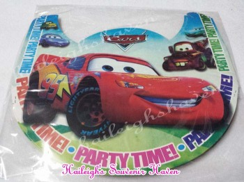 PARTY HATS (Regular, 10s): DISNEY CARS