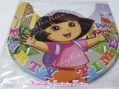 Dora Party Hats (Regular)