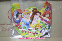 PARTY HATS (Regular, 10s): DISNEY PRINCESS