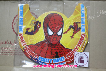 PARTY HATS (Regular, 10s): SPIDERMAN
