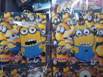 KEY CHAIN (METAL): MINIONS