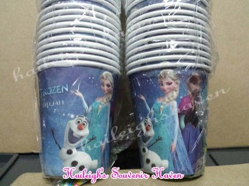 PAPER CUPS [10s]: DISNEY FROZEN