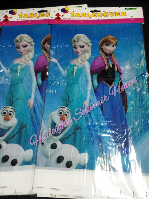 Disney Frozen Plastic Table Cover