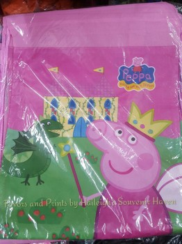 DRAWSTRING BAG (BIG, 12s): PEPPA PIG