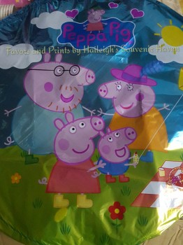 BALLOON (FOIL, 10s): PEPPA PIG