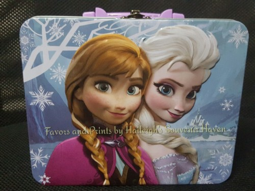 Disney Frozen Tin Lunch Box