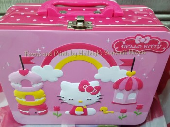 LUNCH BOX (TIN): HELLO KITTY