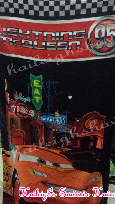Disney Cars Bath Towel