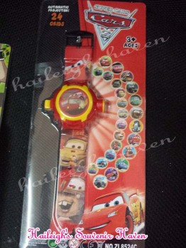 WATCH (Projector): DISNEY CARS