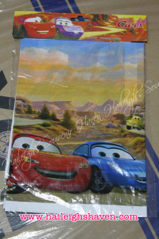 PLASTIC TABLE COVER: DISNEY CARS