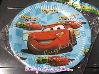 PAPER PLATES [10s]: DISNEY CARS