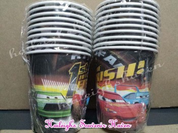 PAPER CUPS [10s]: DISNEY CARS
