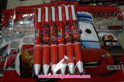 Disney Cars Multicolor Character Pens