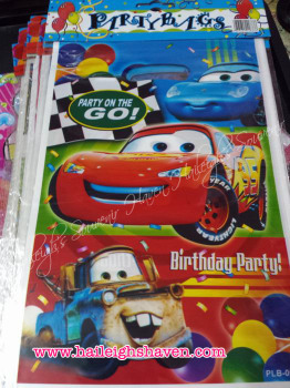 LOOT BAGS (SMALL): DISNEY CARS