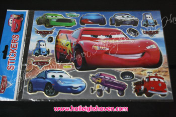 LASER STICKER (10s): DISNEY CARS