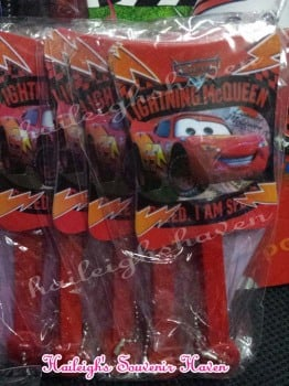 FOLDING FAN (12s): DISNEY CARS