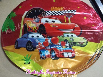 BALLOON (FOIL, 10s): DISNEY CARS