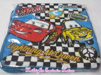 FACE TOWEL (12s): DISNEY CARS
