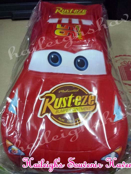 Disney Cars Plastic Toy (McQueen, Large)