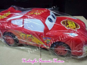 Disney Cars Plastic Toy (McQueen, Medium)