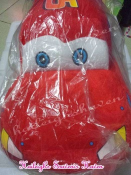 STUFFED TOY: DISNEY CARS - MCQUEEN (XLARGE)