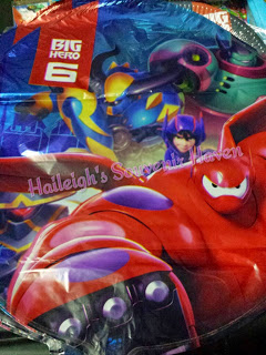 Big Hero 6 Foil Balloons