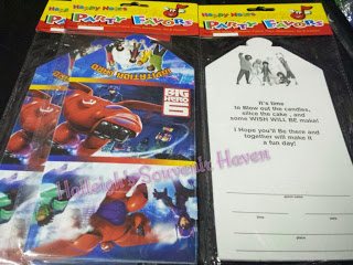 Big Hero 6 Invites (Ready Made)