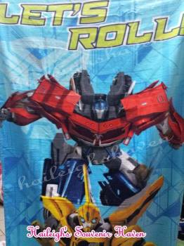 BATH TOWEL: TRANSFORMERS