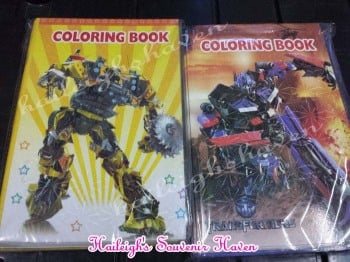 COLORING BOOK (SMALL, 12s): TRANSFORMERS