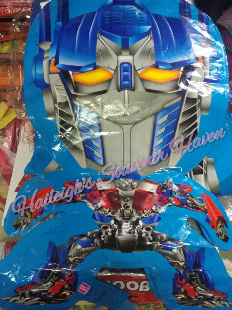 Transformers Shaped Balloon