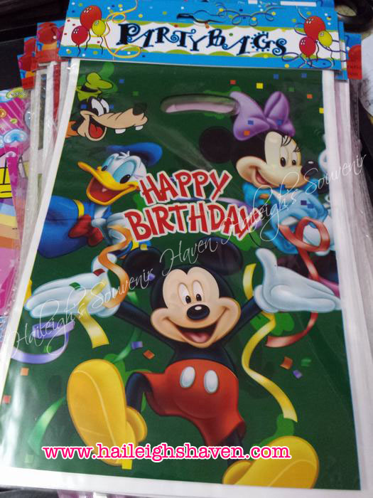 Mickey Mouse and Friends Loot Bags (Small)