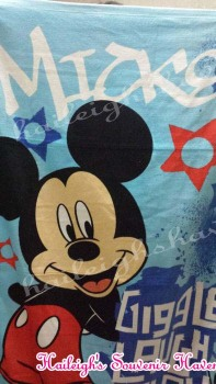 BATH TOWEL: MICKEY MOUSE