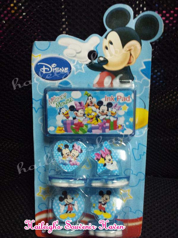 Mickey Mouse Stamp Set