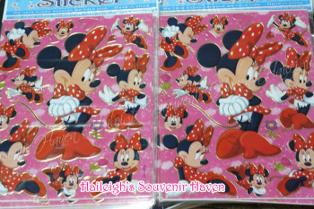 LASER STICKER (10s): MINNIE MOUSE