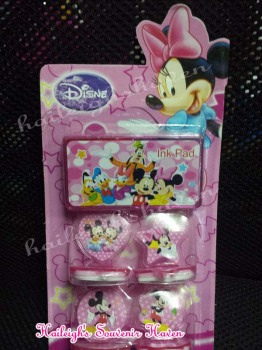 STAMP SET: MINNIE MOUSE