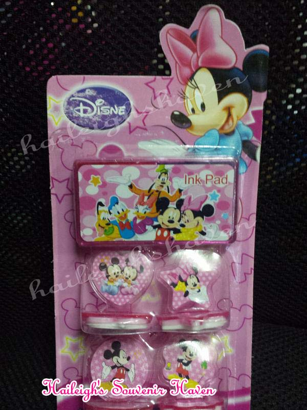 Minnie Mouse Stamp Set
