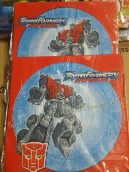 TABLE NAPKINS: TRANSFORMERS