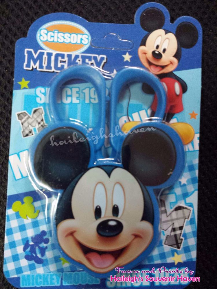Mickey Mouse Scissors (Blue)