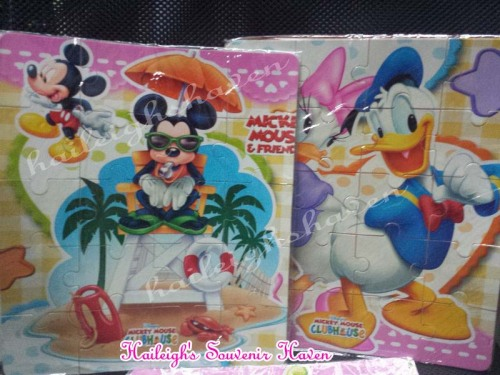 Mickey Mouse and Friends Foam Puzzle (8x11)
