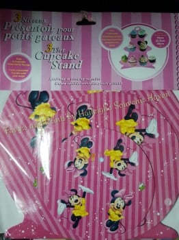 CUPCAKE STAND [3 layers]: MINNIE MOUSE