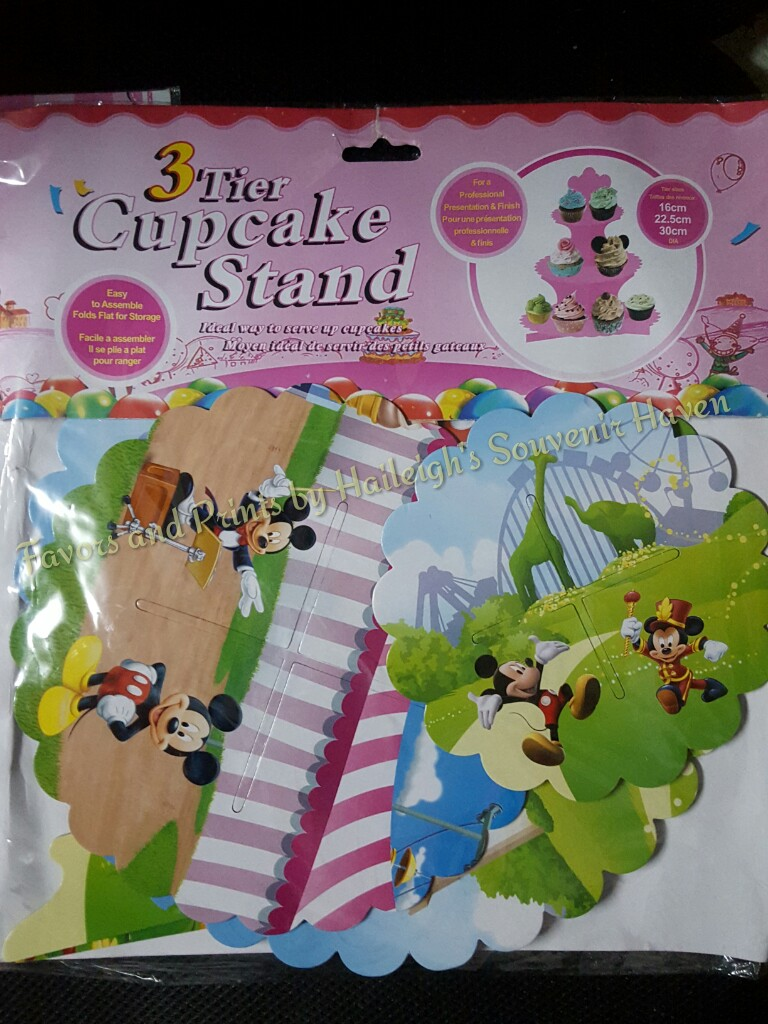 Mickey Mouse 3-layer Cupcake Stand