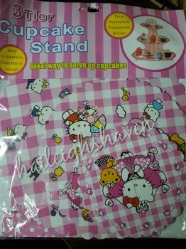 CUPCAKE STAND [3 layers]: HELLO KITTY