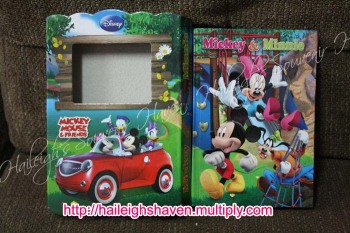 DIARY / JOURNAL: MICKEY, MINNIE AND FRIENDS