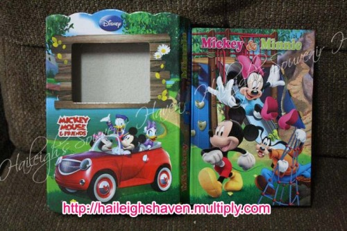 Mickey and Minnie Mouse Diary/Journal