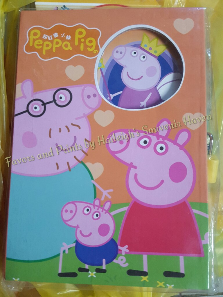 Peppa Pig Diary/Journal
