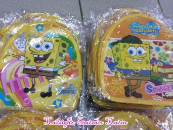 BACKPACK: SPONGEBOB (Small)
