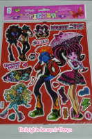 LASER STICKER (10s): MONSTER HIGH