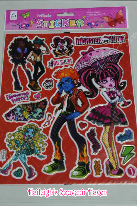 Monster High Laser Sticker