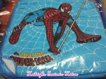 FACE TOWEL (12s): SPIDERMAN